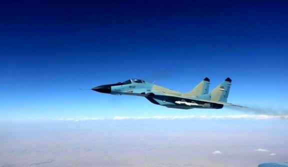 اطلاعیه ارتش درباره سقوط جنگنده میگ-۲۹