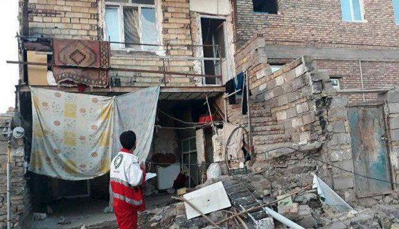 مصدومان زلزله شربیان سرپایی مداوا شدند