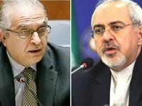 درخواست ظریف از وزیر خارجه عراق در تماس تلفنی