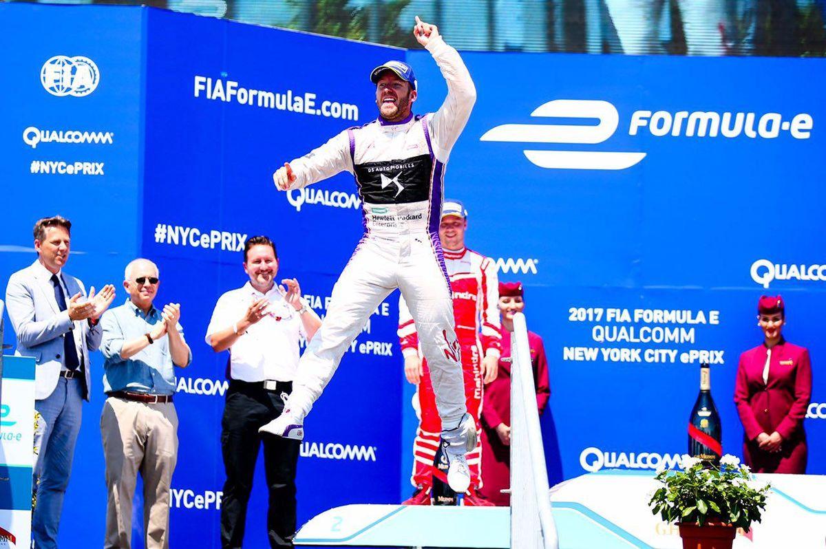 DS؛ بر سکوی نخست مسابقات رالی  Formula E
