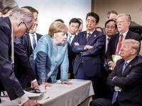 15 تصویر خبرساز از ترامپ در اجلاس گروه7