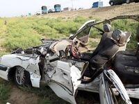 6 فوتی در تصادف دو خودرو سواری