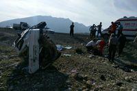 کشتههای تصادفات رانندگی هرماه معادل سقوط 6 هواپیما !