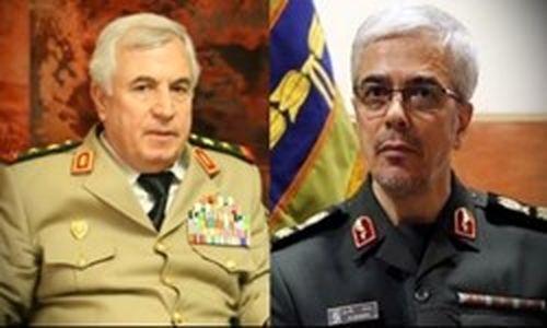 تبریک سرلشکر باقری به  پیروزیهای اخیر ارتش سوریه