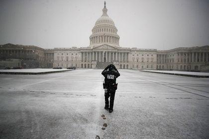 برف و کولاک شدید در آمریکا +تصاویر