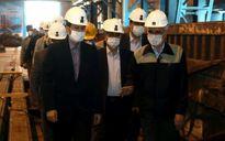 نگاه مسئولین کشور برای تامین ریل مترو به ذوب آهن اصفهان است