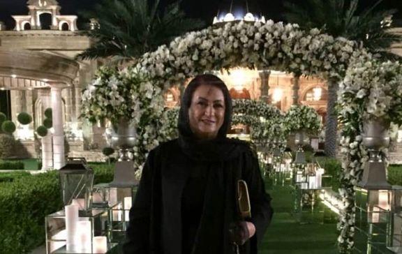 مریم امیرجلالی در عروسی الهام حمیدی +عکس