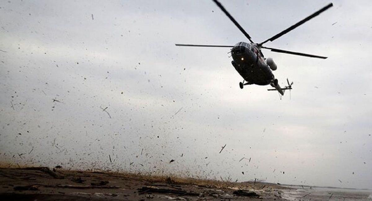 سقوط بالگرد سازمان ملل جان ۷نفر را گرفت