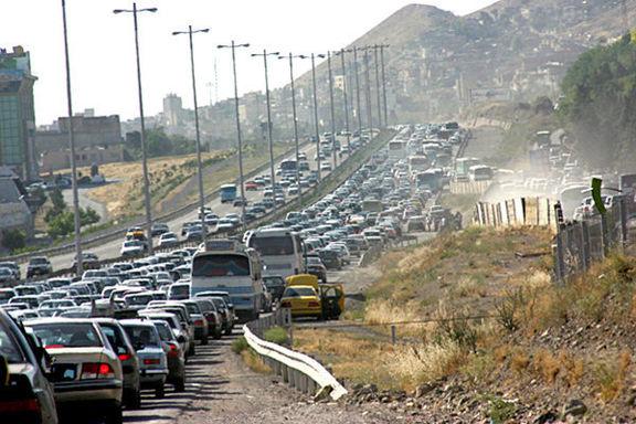 افزایش ۱.۳درصدی تردد در جادههای کشور