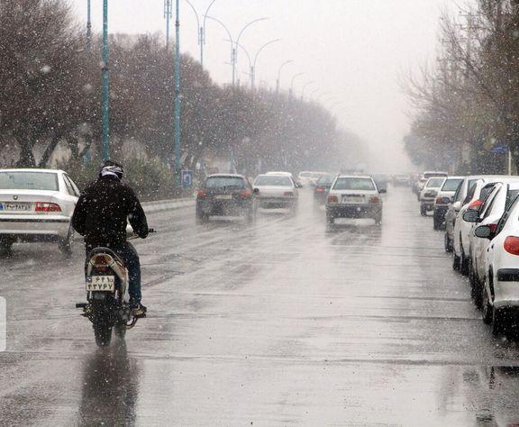 امشب هوای تهران بارانی است