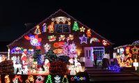 جشن کریسمس در سراسر جهان +تصاویر