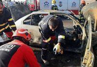 کشته و زخمی شدن 10نفر در سانحه رانندگی