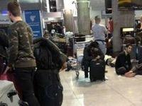 لغو ۲۰۰پرواز و سرگردانی مسافران در فرودگاههای مهرآباد و امام