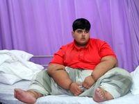 چاقترین کودک جهان +تصاویر