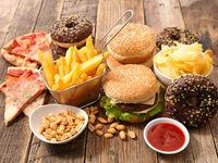 کاهش استرس  با مصرف کمتر فست فود