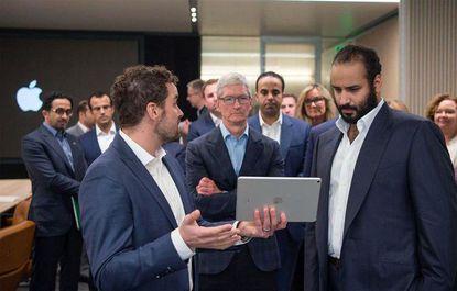 دیدار ولیعهد عربستان با غولهای فناوری دنیا