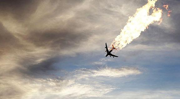 رد کامل شایعه اصابت موشک به هواپیمای اوکراینی