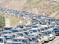 تعطیلات نابسامان جادهها را زیربار ترافیک برد