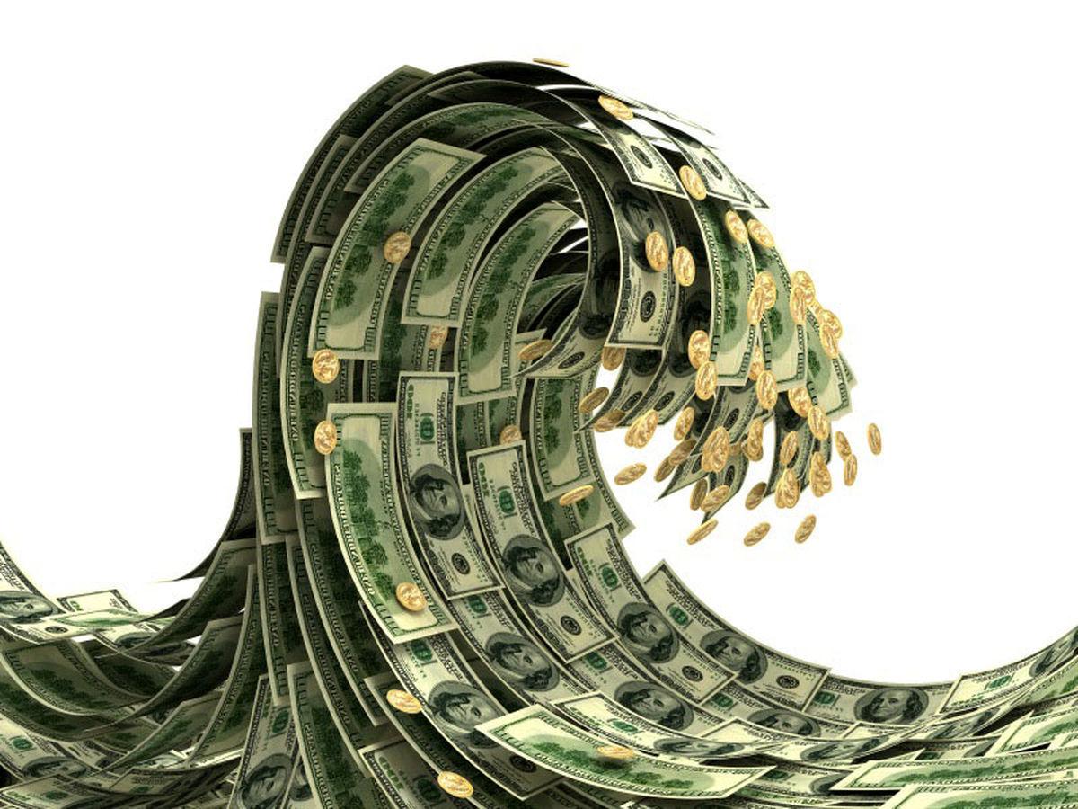 متوسط رشد نقدینگی ۱.۴درصد کاهش یافت/ ۱۱.۷درصد نقدینگی در اختیار  ۶بانک و ۴موسسهاعتباری