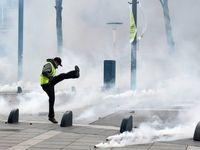 یازدهمین هفته از تظاهرات جلیقه زردها به روایت تصویر