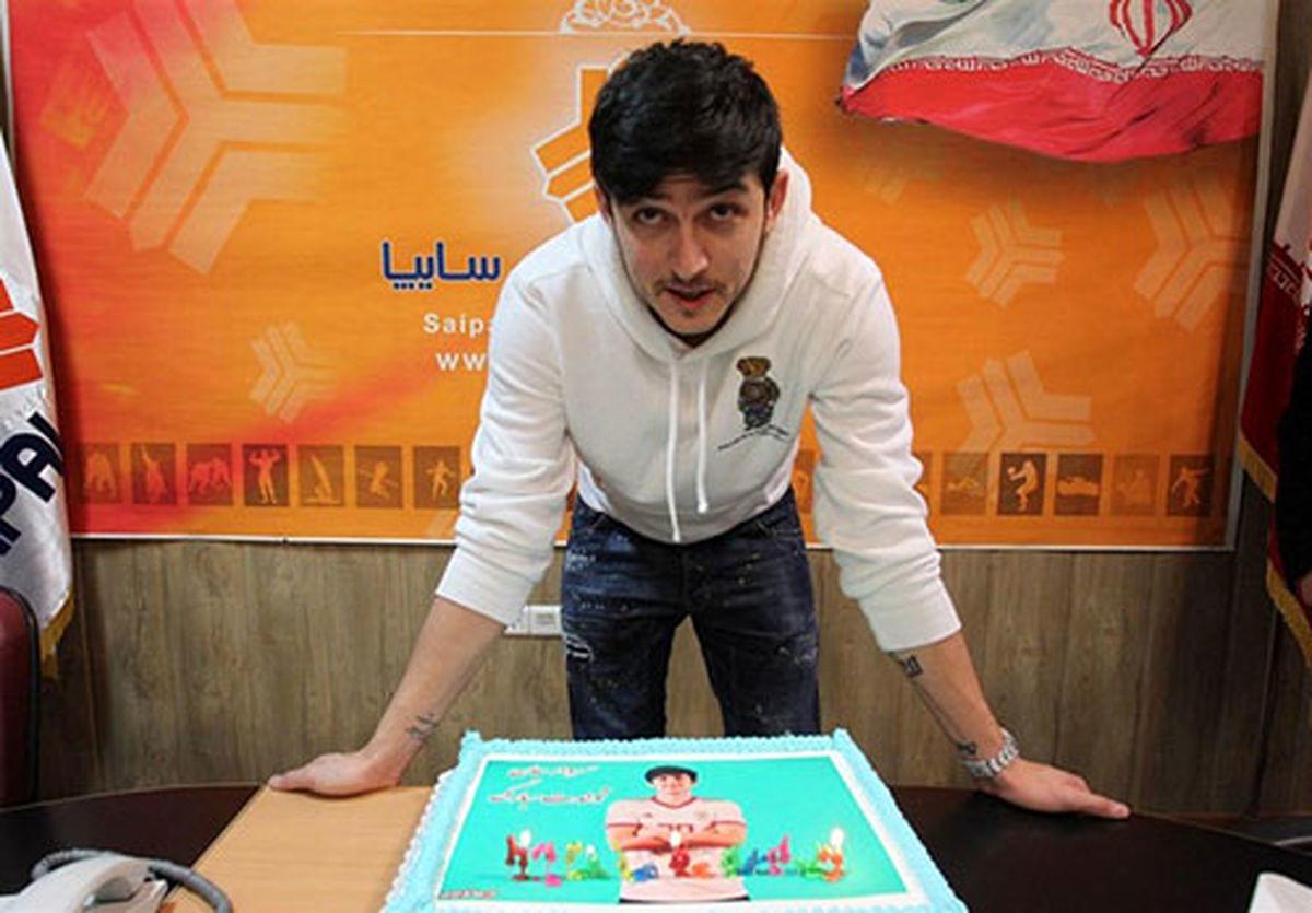 جشن تولد سردار آزمون +عکس