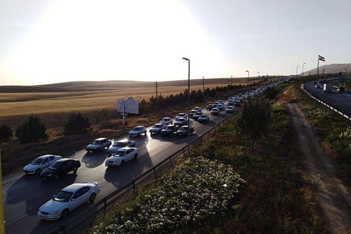 وضعیت ترافیکی جادههای کشور در آخرین جمعه سال