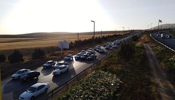ترافیک سنگین در محورهای بازگشت