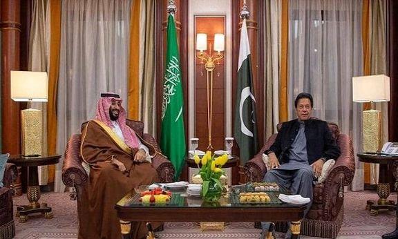 عمران خان و بن سلمان دیدار کردند