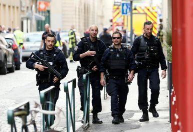 حمله تروریستی در لیون فرانسه