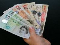 پوند و یورو بانکی تقویت شد