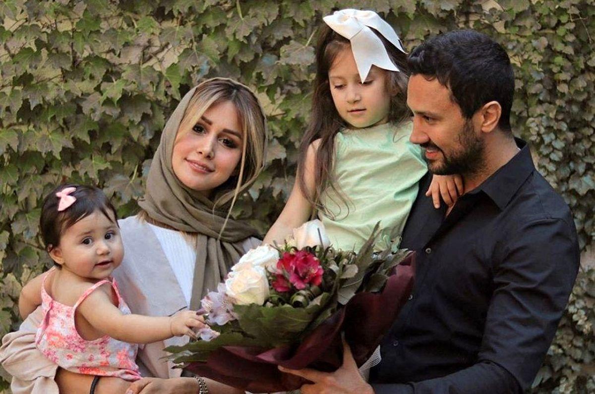 عید نوروز خانواده شاهرخ استخری +عکس