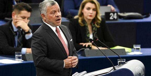 هشدار پادشاه اردن درباره تشدید تنش بین ایران و آمریکا