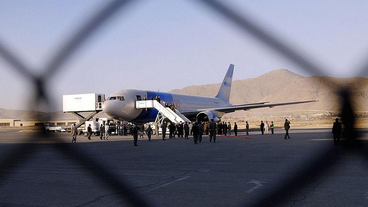 باور نکردنی از فرودگاه کابل! +فیلم