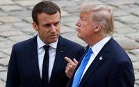 رایزنی ترامپ و ماکرون درباره طرح خروج آمریکا از سوریه