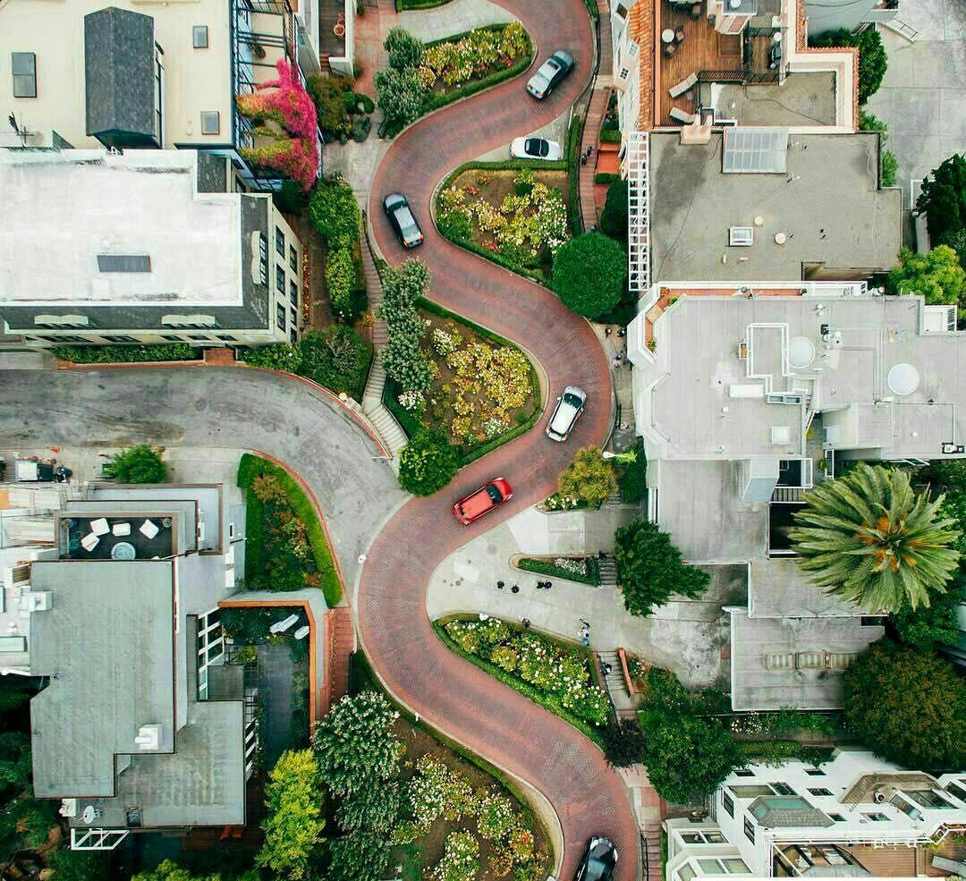 خیابان زیگزاگی