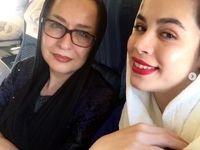 عکس مادر و دختری خانم بازیگر