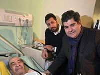 هنرمند پیشکسوت از بیمارستان ترخیص شد +عکس