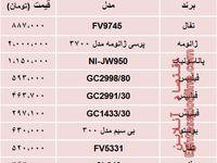 قیمت انواع اتو در بازار تهران؟ +جدول