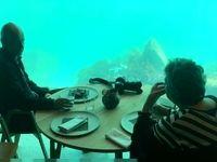 تصاویری از نخستین رستوران زیردریایی اروپا در نروژ +فیلم