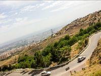 فوت یک نفر به دلیل سقوط خودرو در دره کوهسار