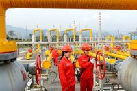 چین همچنان رکورددار واردات گاز طبیعی است