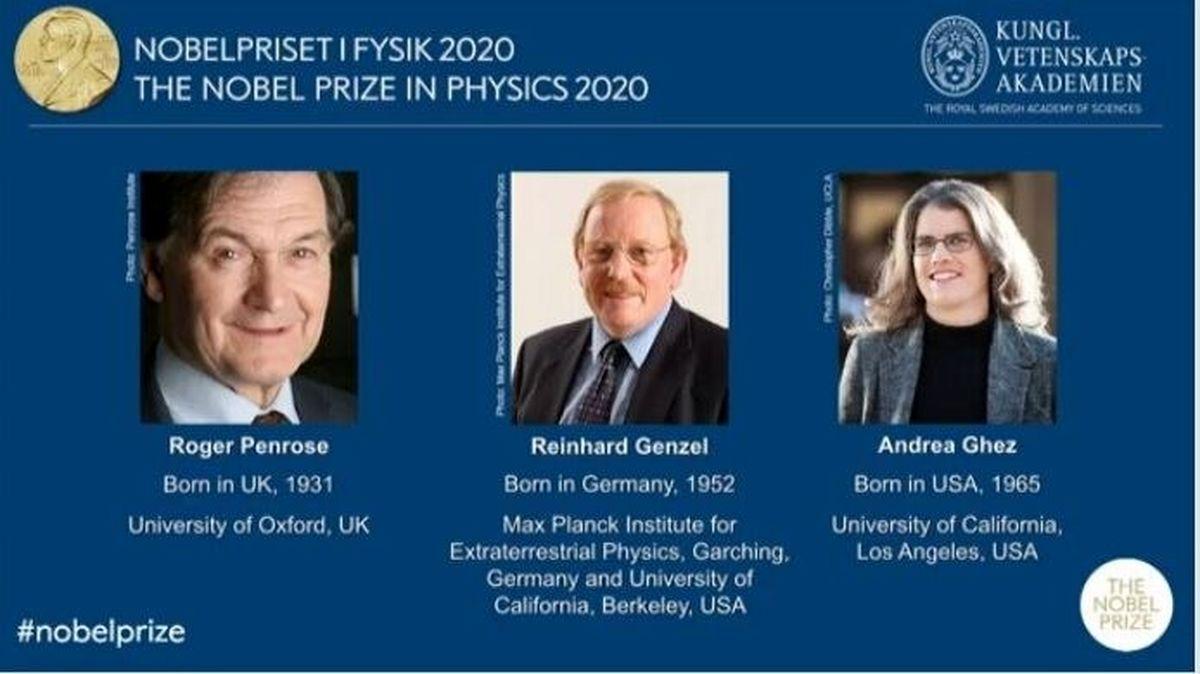 برندگان نوبل فیزیک ۲۰۲۰ +عکس