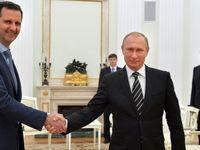 استقبال پوتین از بشار اسد در سوچی +فیلم