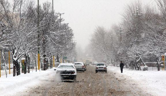 بارش برف و باران تا پایان هفته در کشور