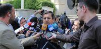 حواشی حضور وزیران در حیاط دولت +تصاویر