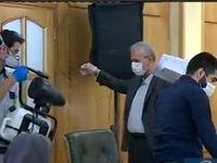 ضدعفونی سخنگوی دولت قبل از نشست خبری +فیلم