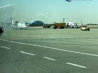 مراسم واترسلوت برای هواپیماهای ATR تازه وارد +عکس