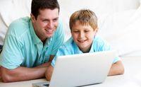 کمک پدر و مادر به فرزندان در آموزش مجازی