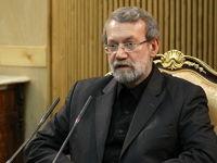 دیدار لاریجانی با هیات اعزامی حماس