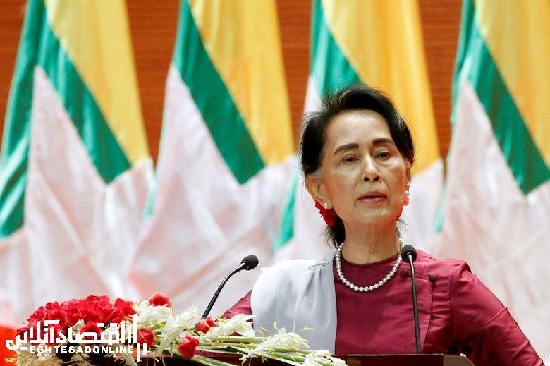 Myanmar's State Counselor Aung San Suu Kyi, in office since April 6, 2016. REUTERS/Soe Zeya Tun